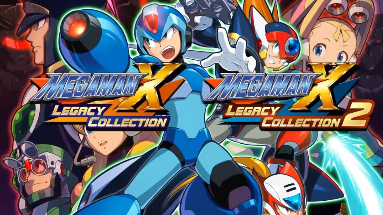 Megaman X Legacy Collection 1 & 2 - Pre Order Trailer