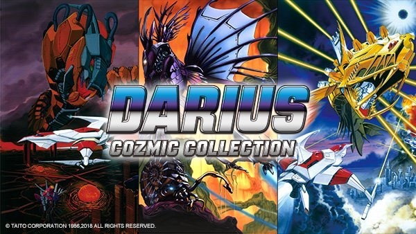 Darius Cozmic Collection Coming To Nintendo Switch In 2019