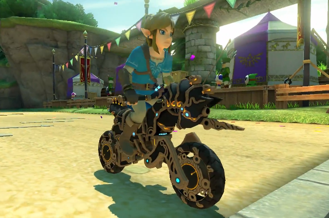 Zelda Breath Of The Wild Master Cycle: Master Cycle Zero & Breath Of The