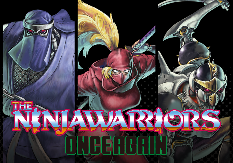 The Ninja Warriors: Once Again Officially Announced For