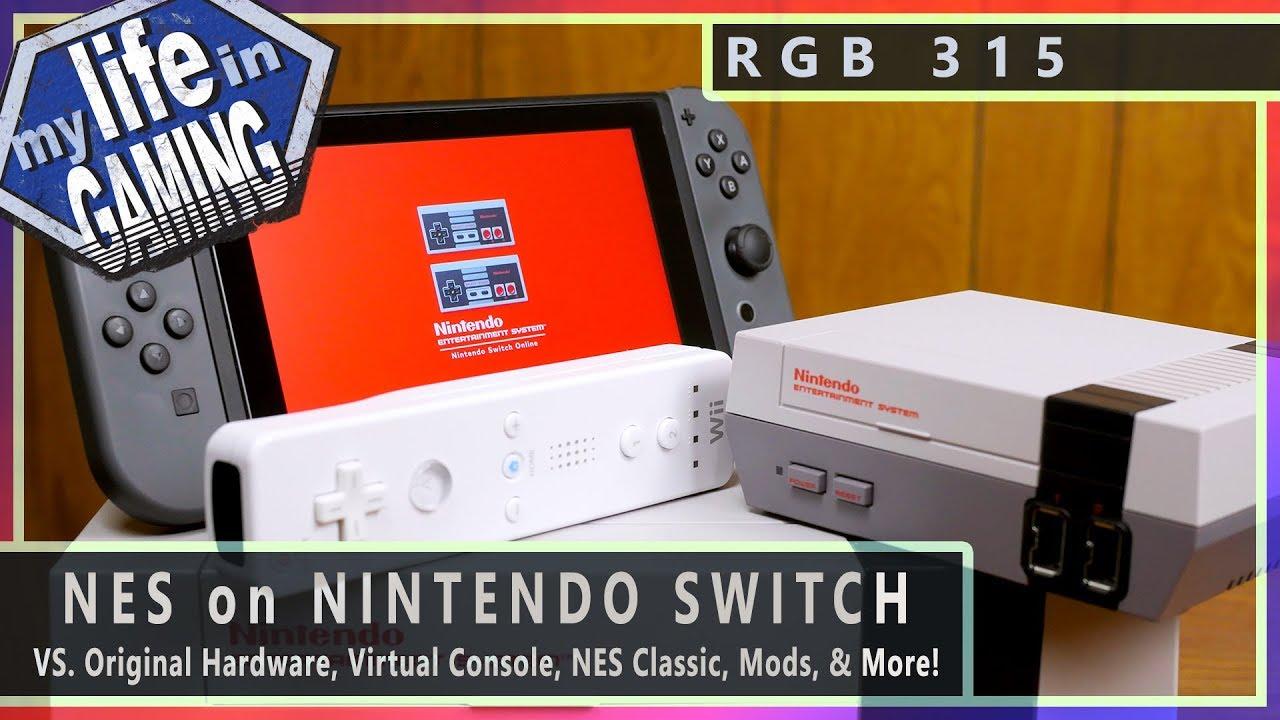Video comparison - NES on Switch VS  Original Hardware