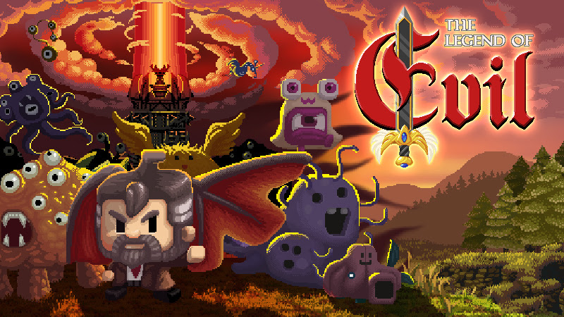 Take on ghastly abominations in the tower offense title, Legend of Evil, hitting Switch October 19th, 2018