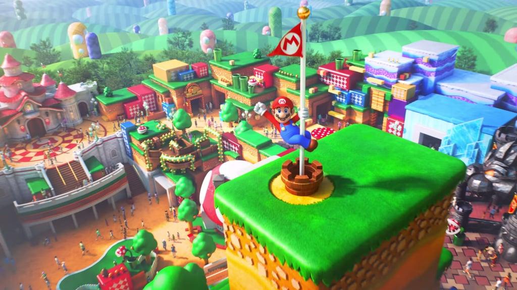 Super Nintendo World construction making progress at Universal Studios Hollywood