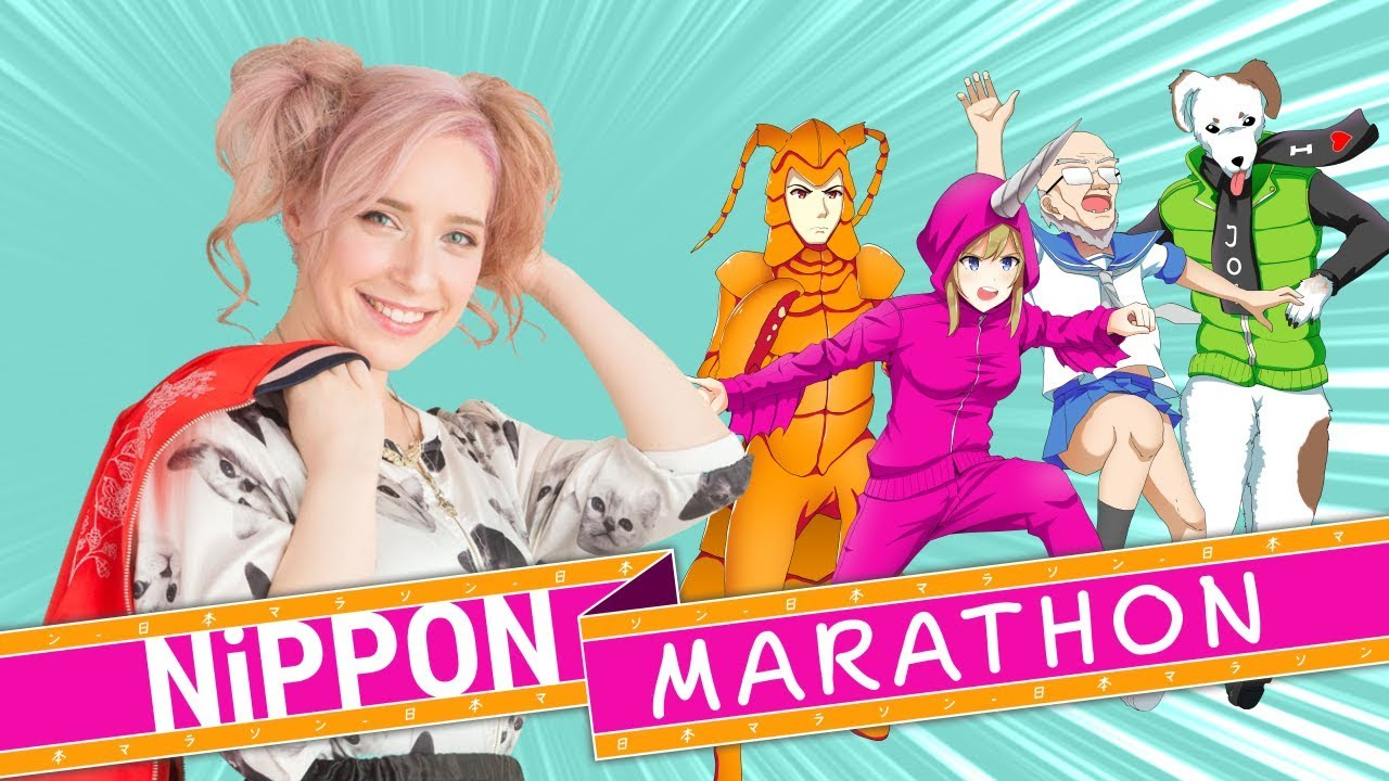 Diana Garnet and the Nippon Marathon team cooperate for the perfect J-pop soundtrack