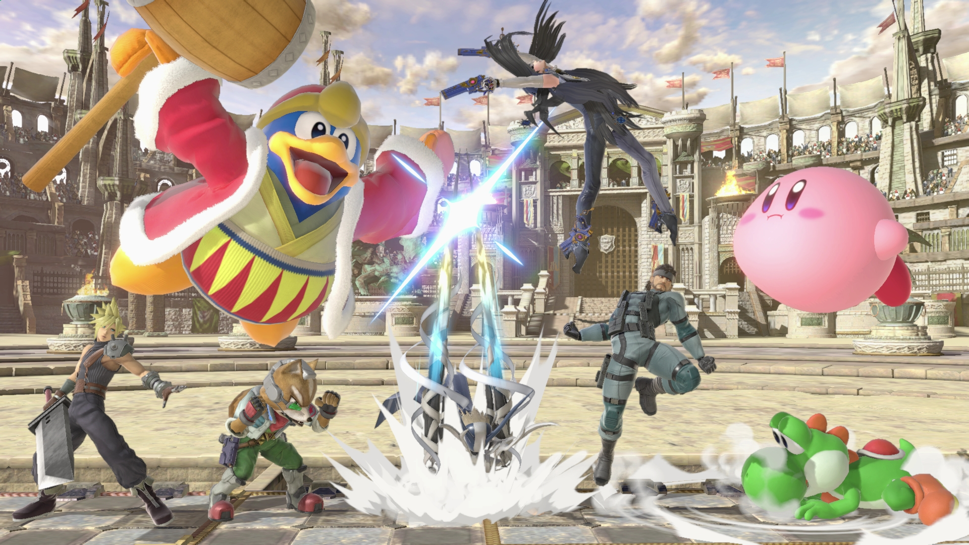 Professional Smash Bros. Melee players were part of the play-testing and quality assurance team for Smash Bros. Ultimate