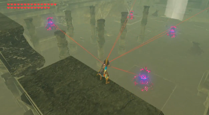 The Legend of Zelda: Breath of the Wild player defeats six Guardians in a matter of seconds