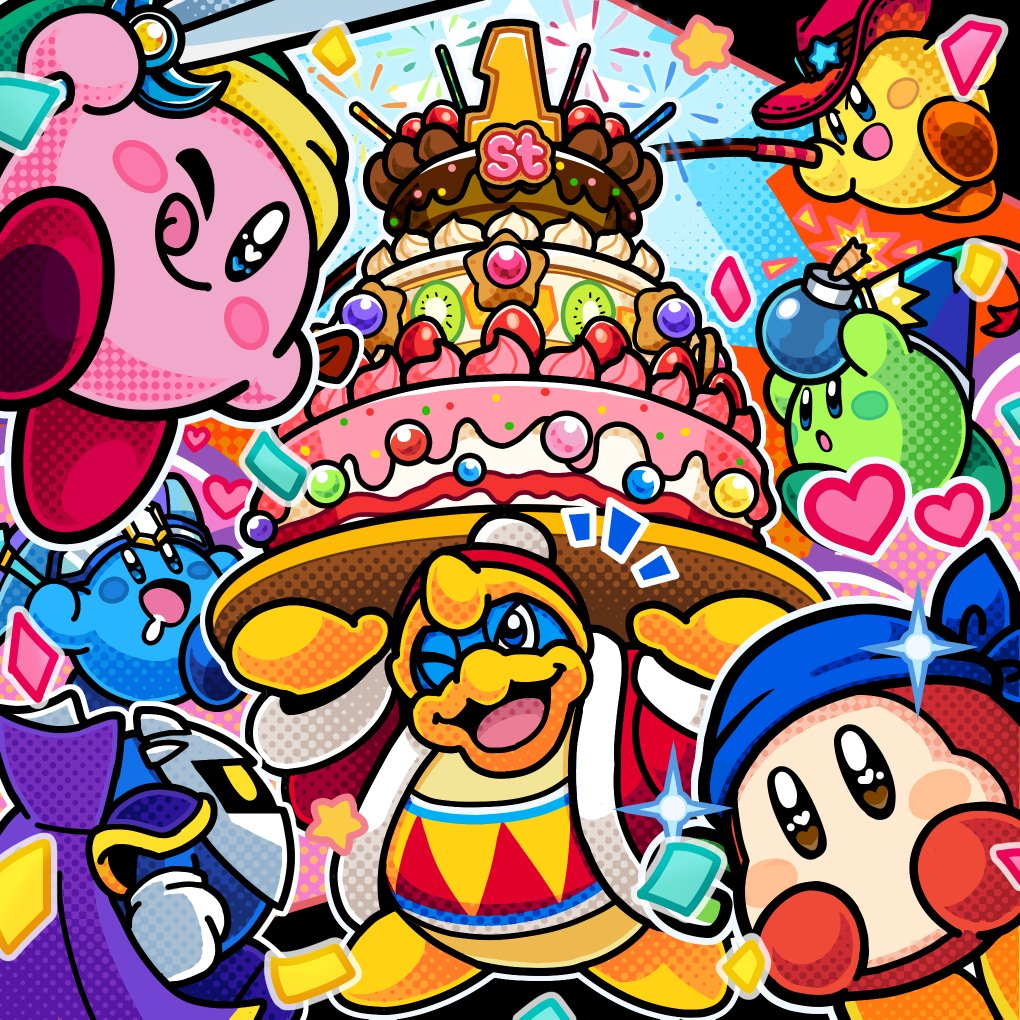 Nintendo celebrate's Kirby Battle Royale's 1-year anniversary with special art