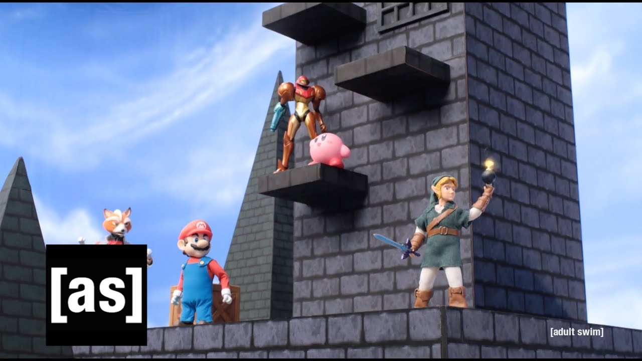 Robot Chicken's latest Nintendo spoof mashes up Smash Bros. with The Hunger Games