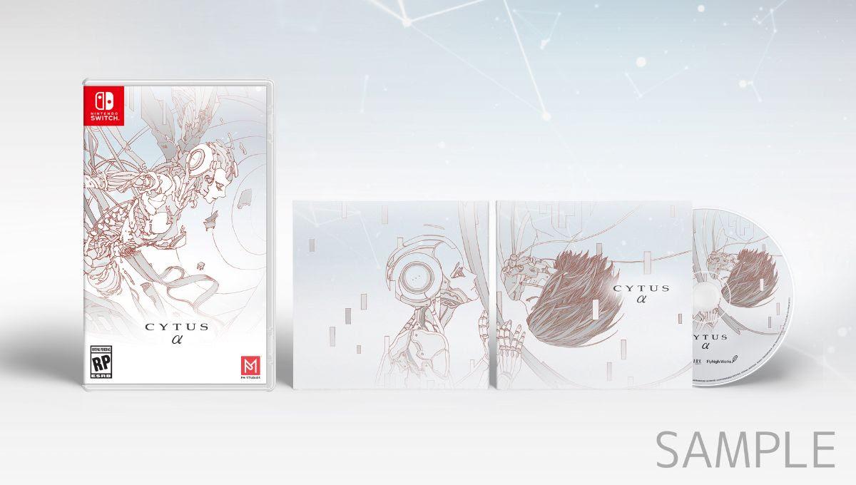 PR - CYTUS ALPHA COMING TO NINTENDO SWITCH THIS APRIL ALONG WITH BONUS OST CD
