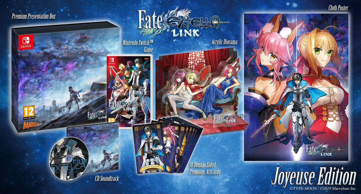 Fate/EXTELLA LINK launches for Switch on March 22nd, 2019 in Europe