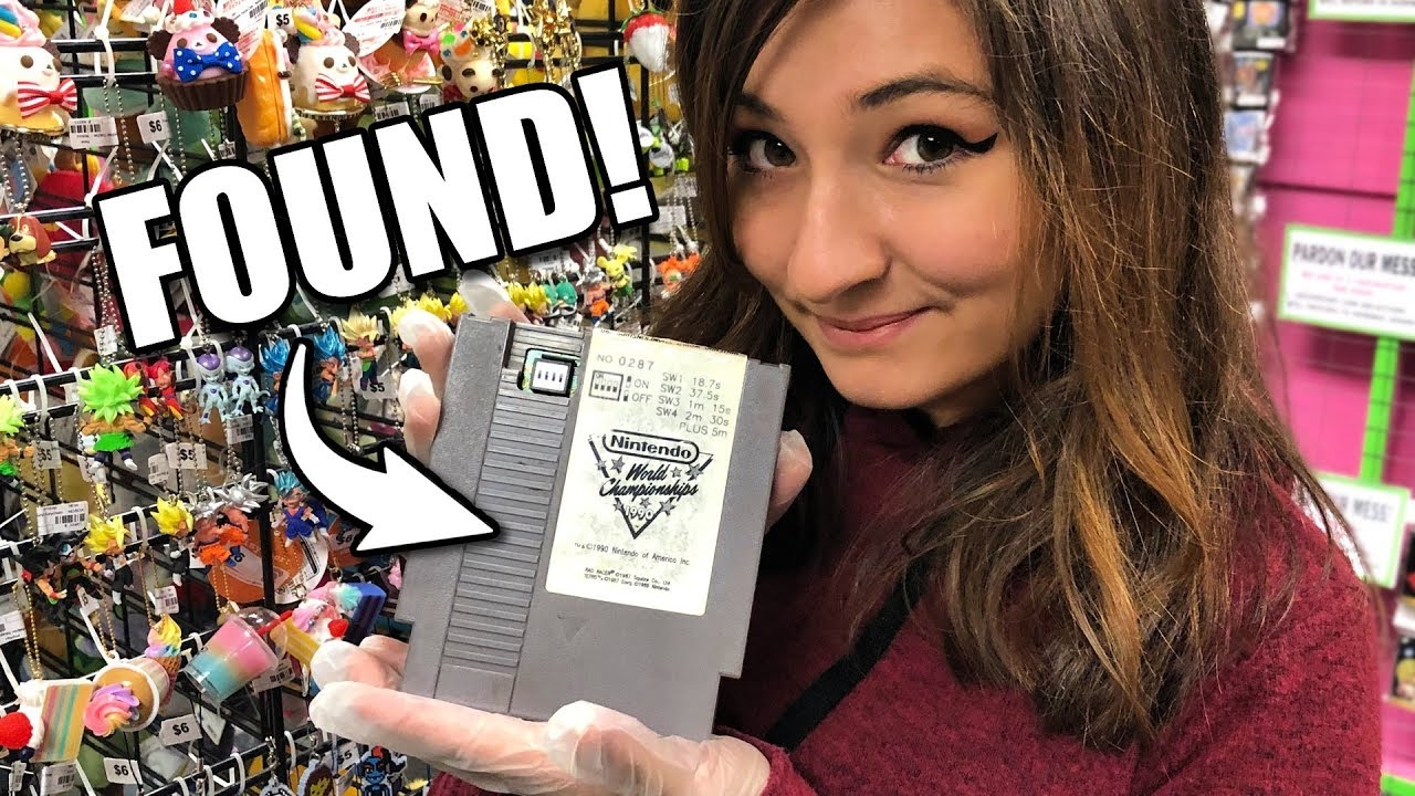 Rare Nintendo World Championships cart discovered sitting in someone's attic