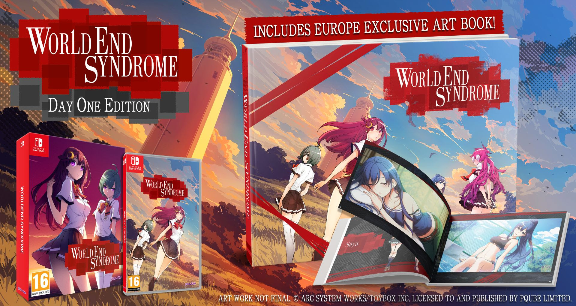 WORLD END SYNDROME: Release date and Day-One-Edition announced