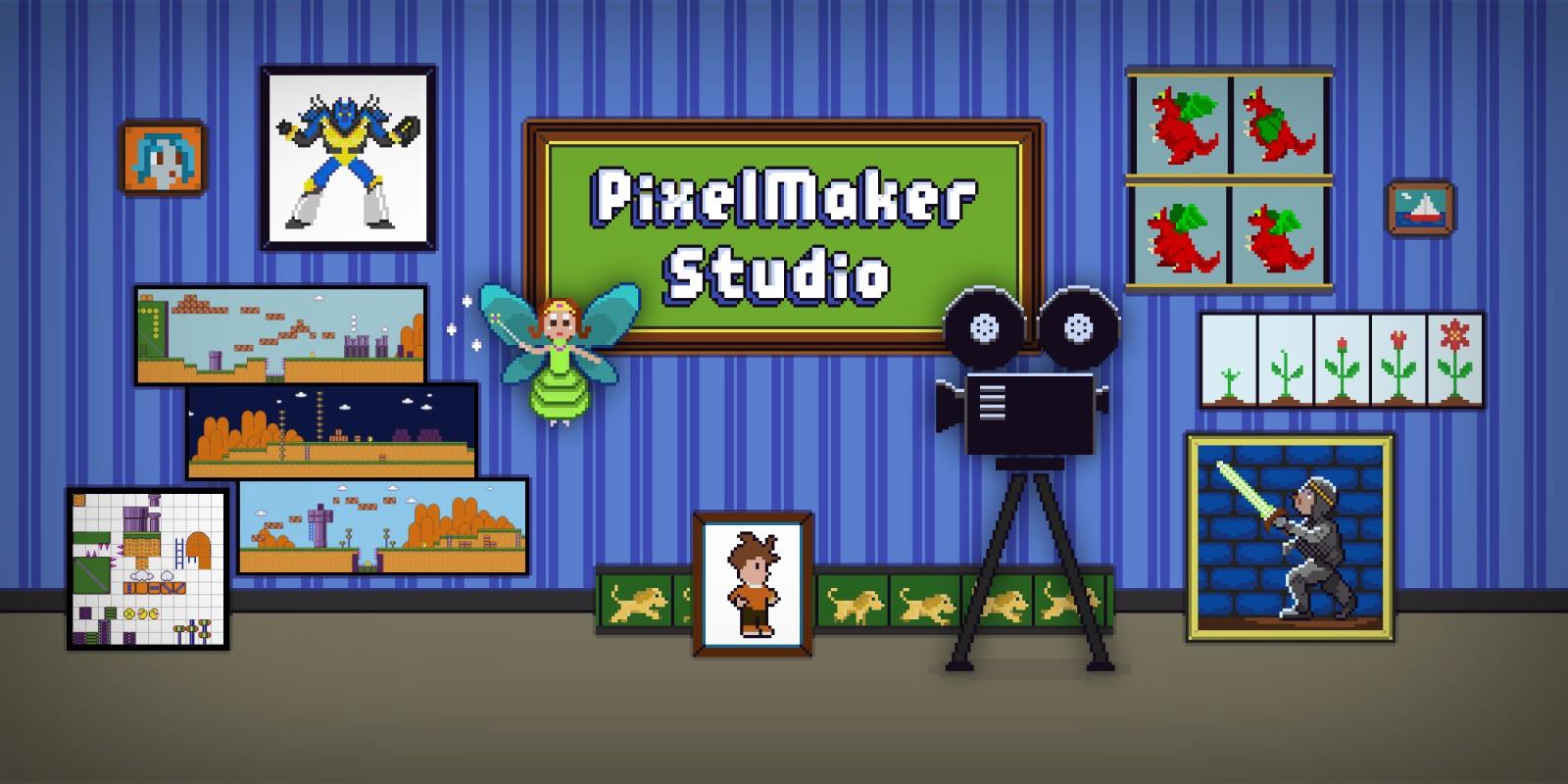 PixelMaker Studio coming to Wii U on March 21st, 2019