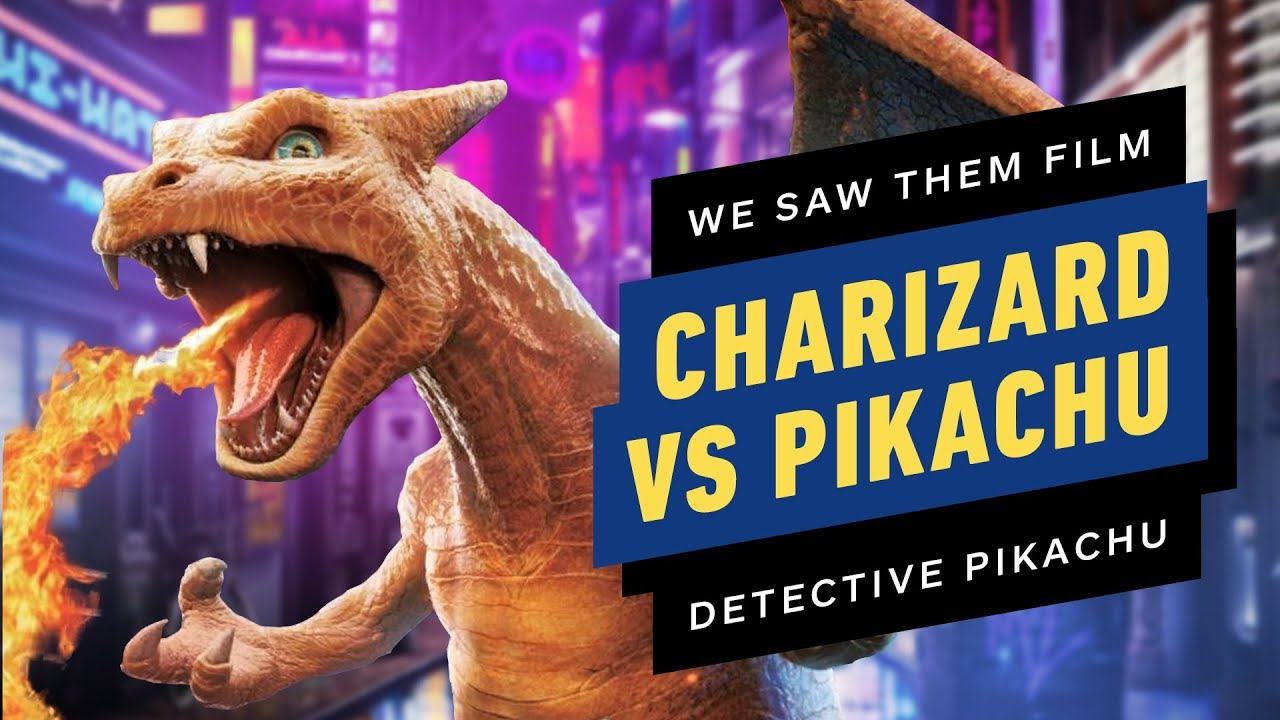 Ign Shares New Details From The Set Of The Detective Pikachu Movie
