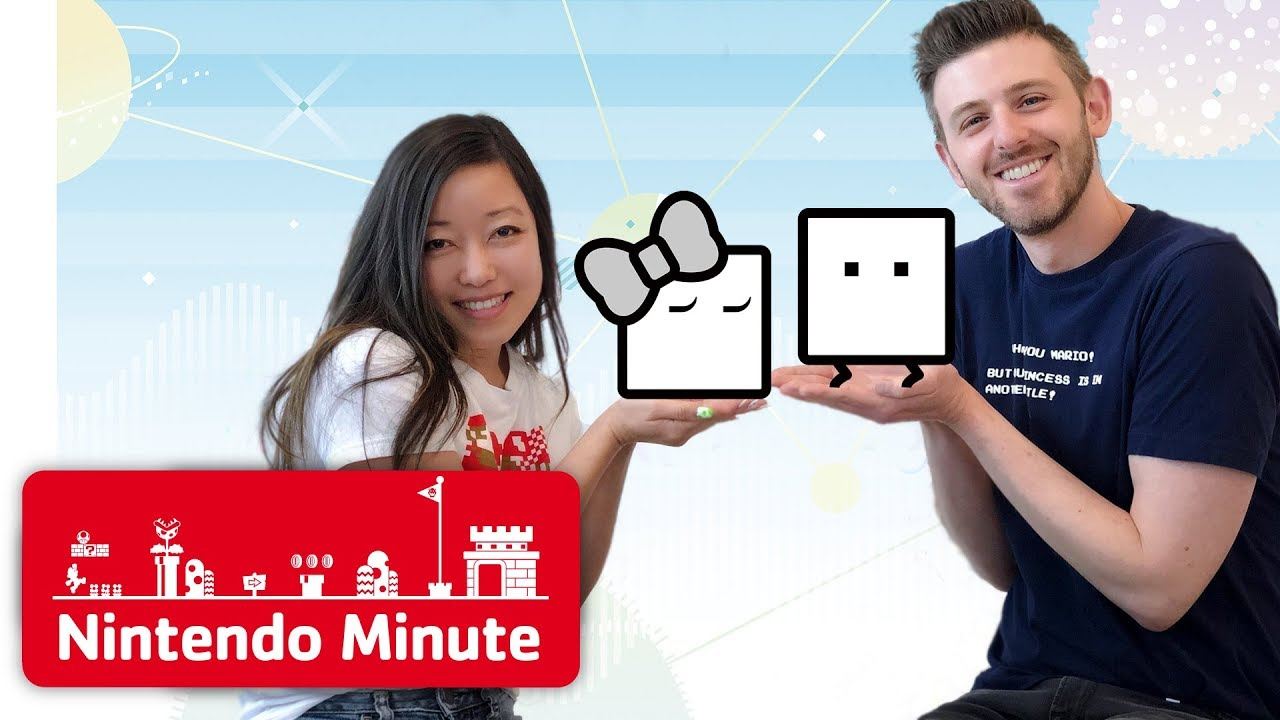 Nintendo Minute - BOXBOY! + BOXGIRL! New Stages Co-op Gameplay