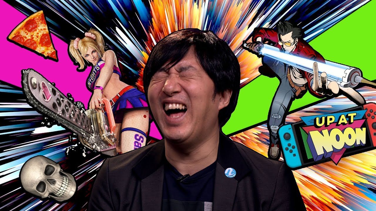 IGN Up At Noon Segments - 21 Stupid Questions with Suda51, and 7 Bad N64 Games We Want on Switch