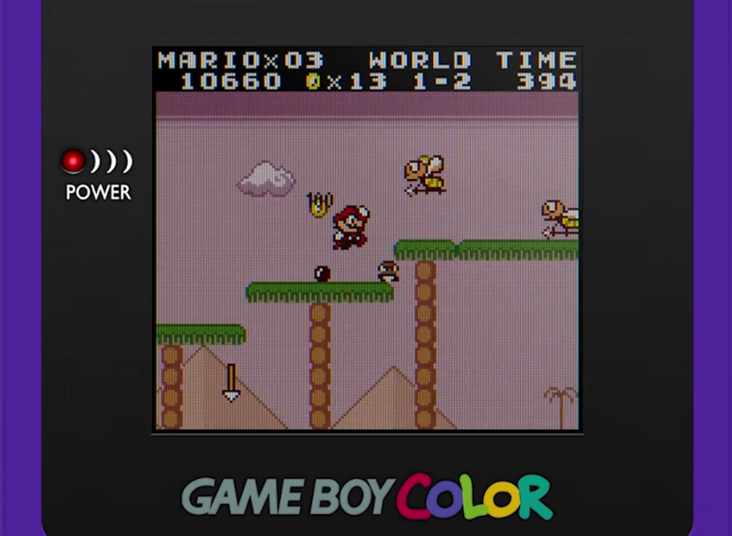 Super Mario Land mod adds in color