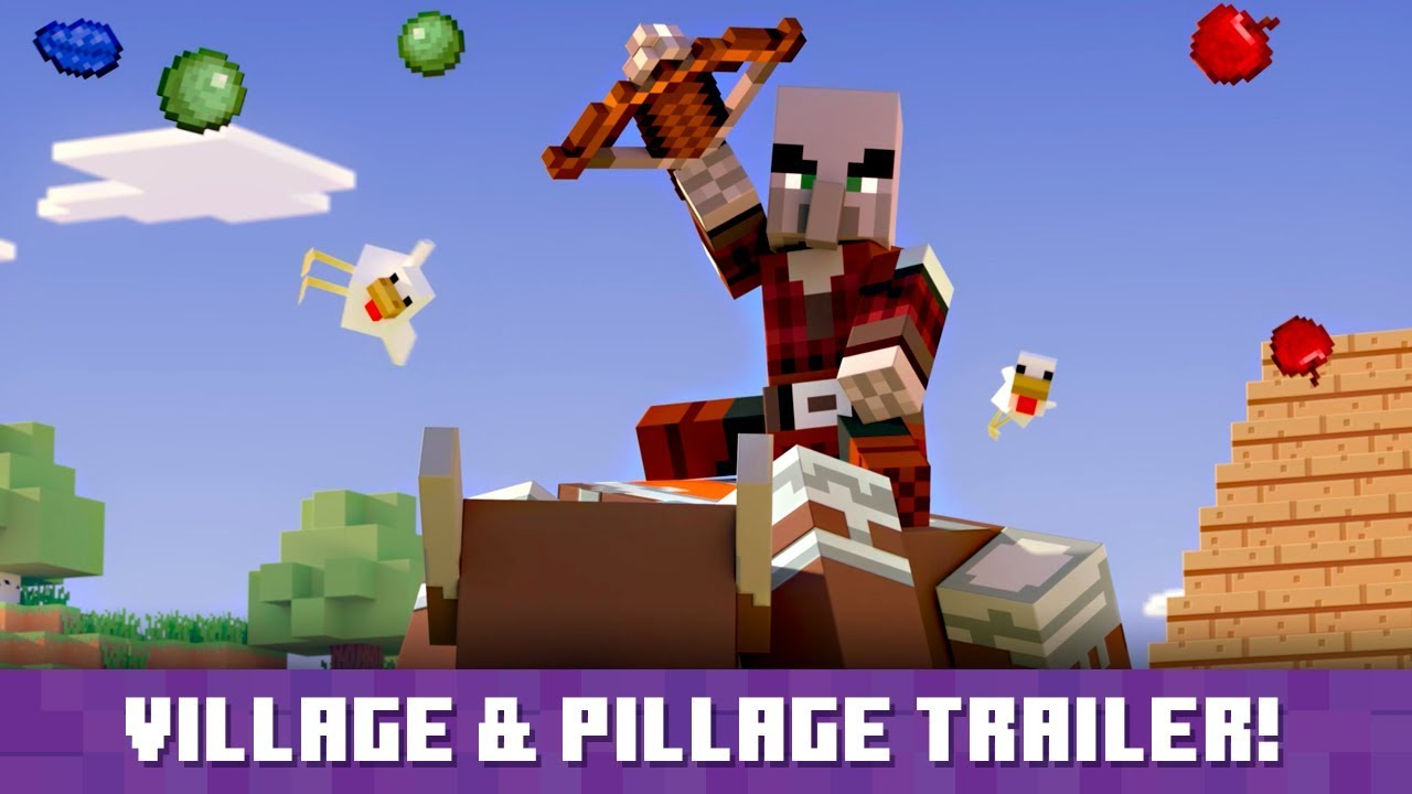 """Minecraft """"Village & Pillage"""" update available today, full patch notes shared"""