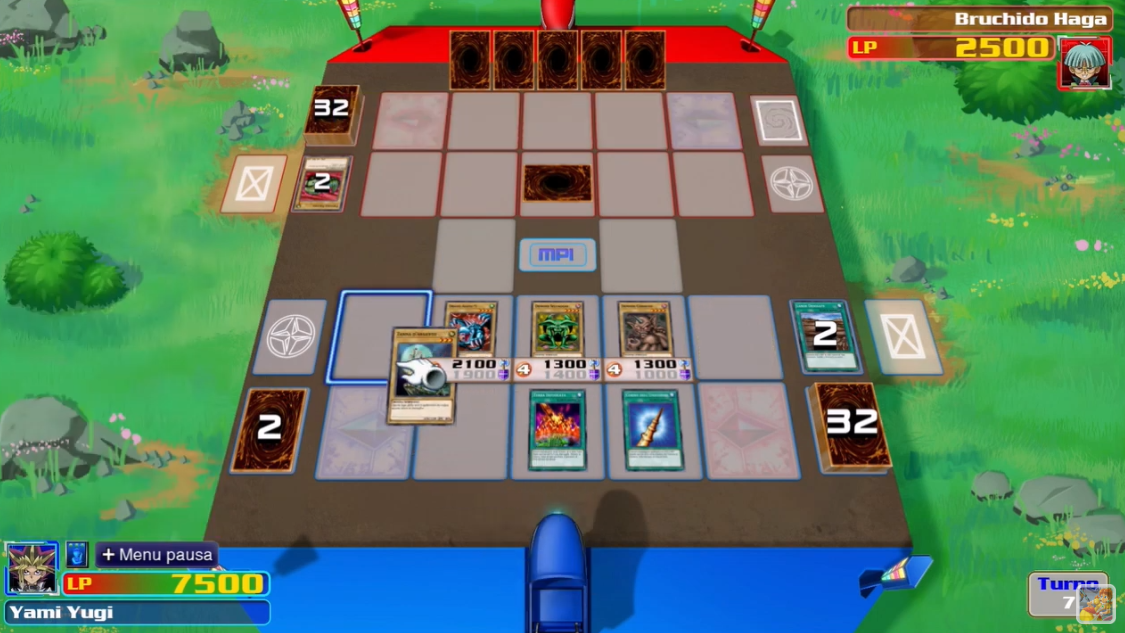 Yu-Gi-Oh! Legacy of the Duelist: Link Evolution - more gameplay