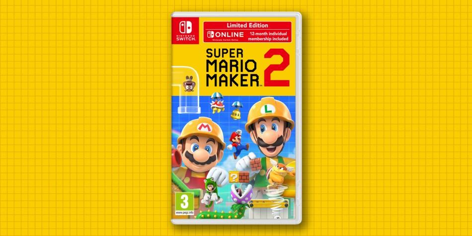 Nintendo Europe reveals Super Mario Maker 2 Limited Edition and Preorder Bonus