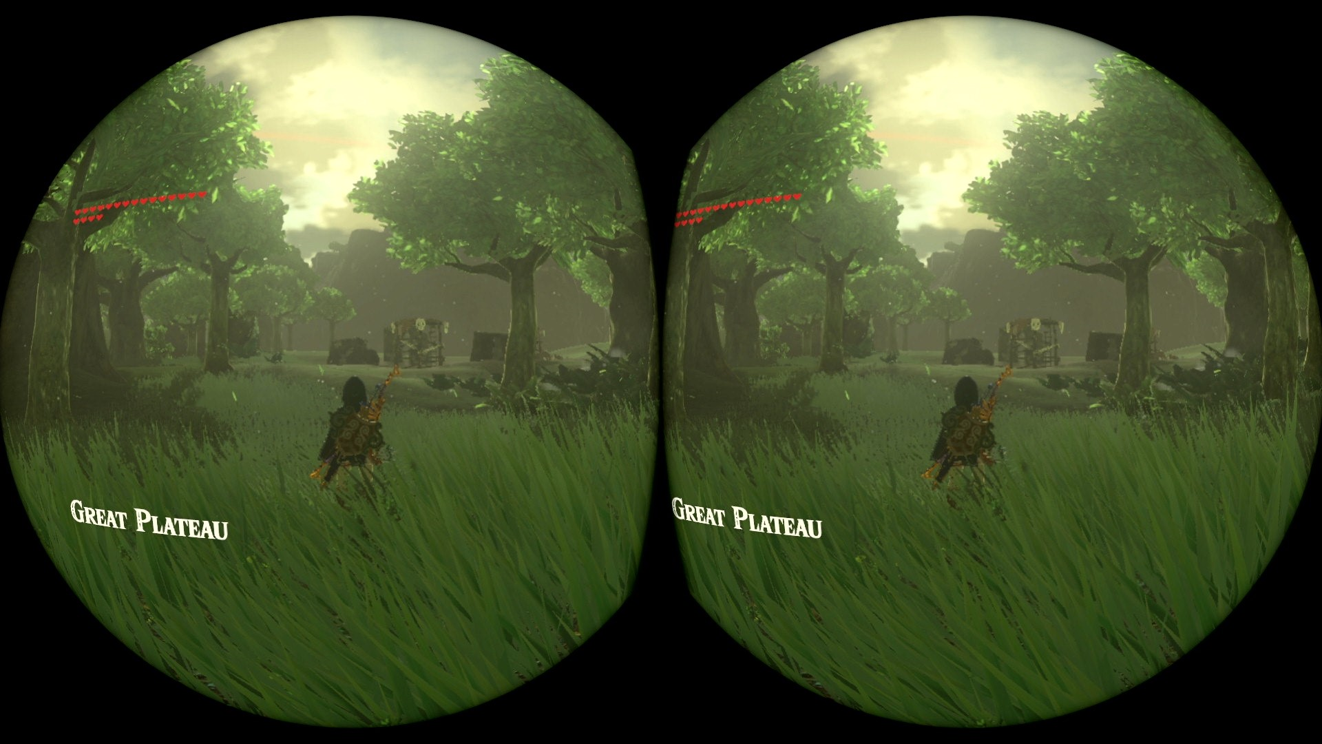 Zelda: Breath of the Wild's VR mode still functions when your Switch is docked
