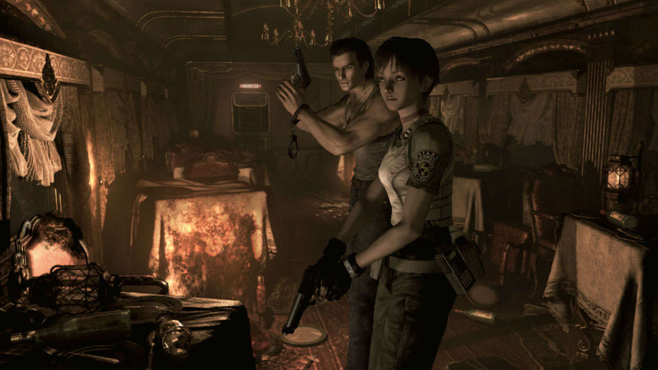 Resident Evil looks and moves beautifully on handheld Switch