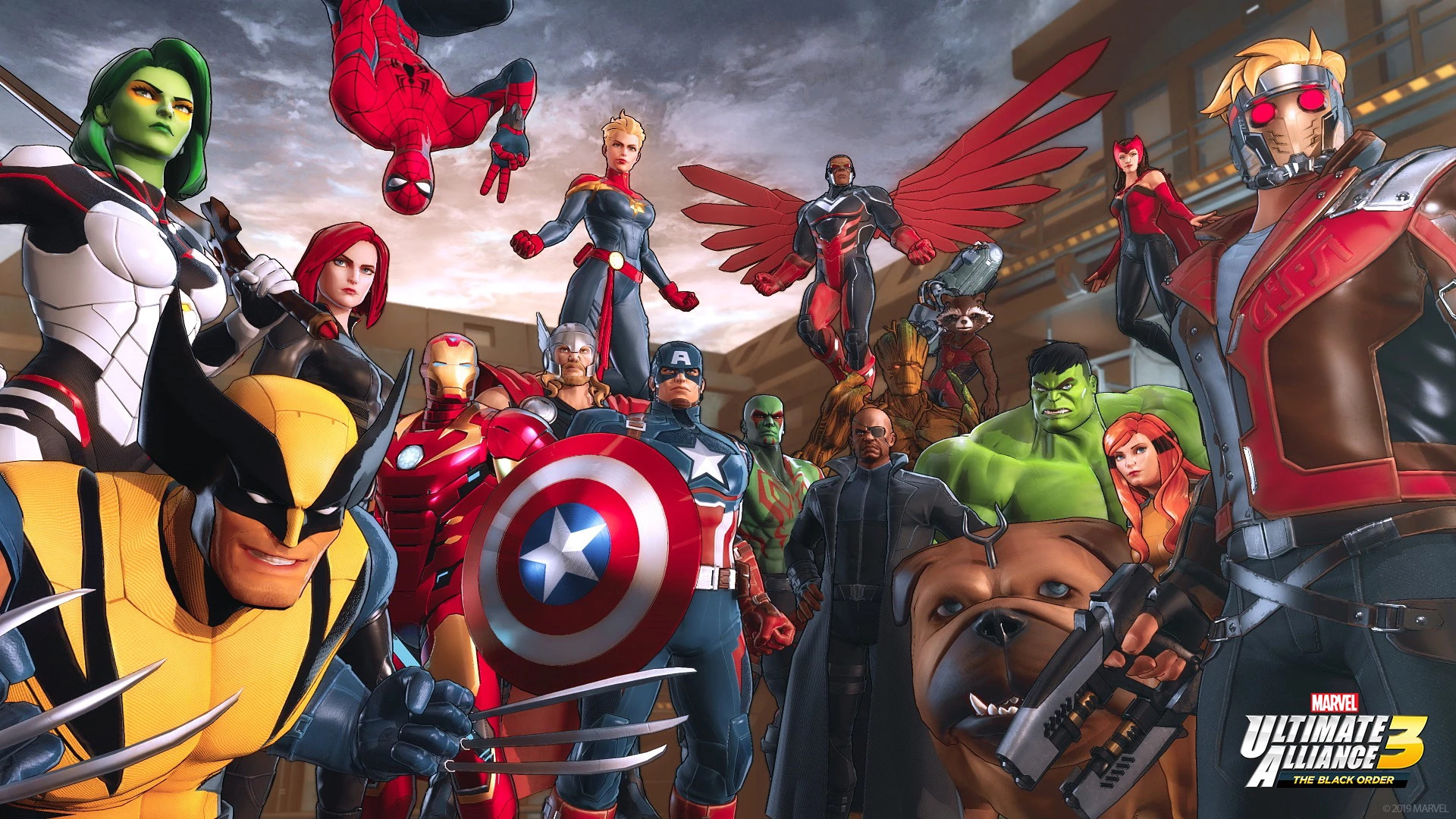 Image result for Marvel Ultimate Alliance 3: The Black Order