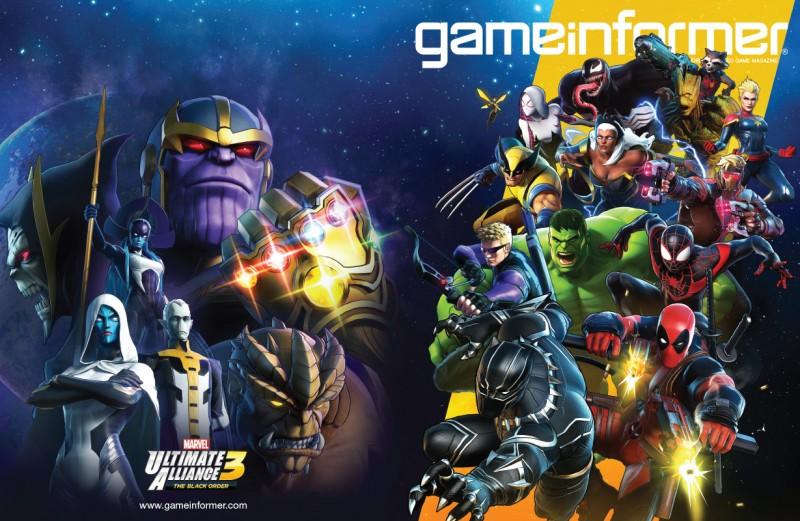 Game Informer S Latest Cover Features Marvel Ultimate Alliance 3 New Info Revealed Gonintendo