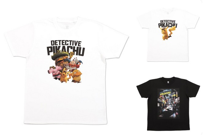 cfb27983 T-shirt designer Graniph has released a set of three Detective Pikachu  shirts in Japan, and we have to say that they're a tad uninspired.