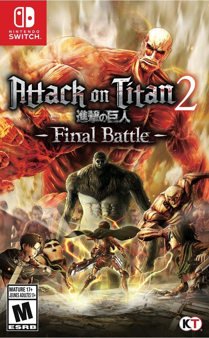 Attack on Titan 2: Final Battle - North American cover art ...