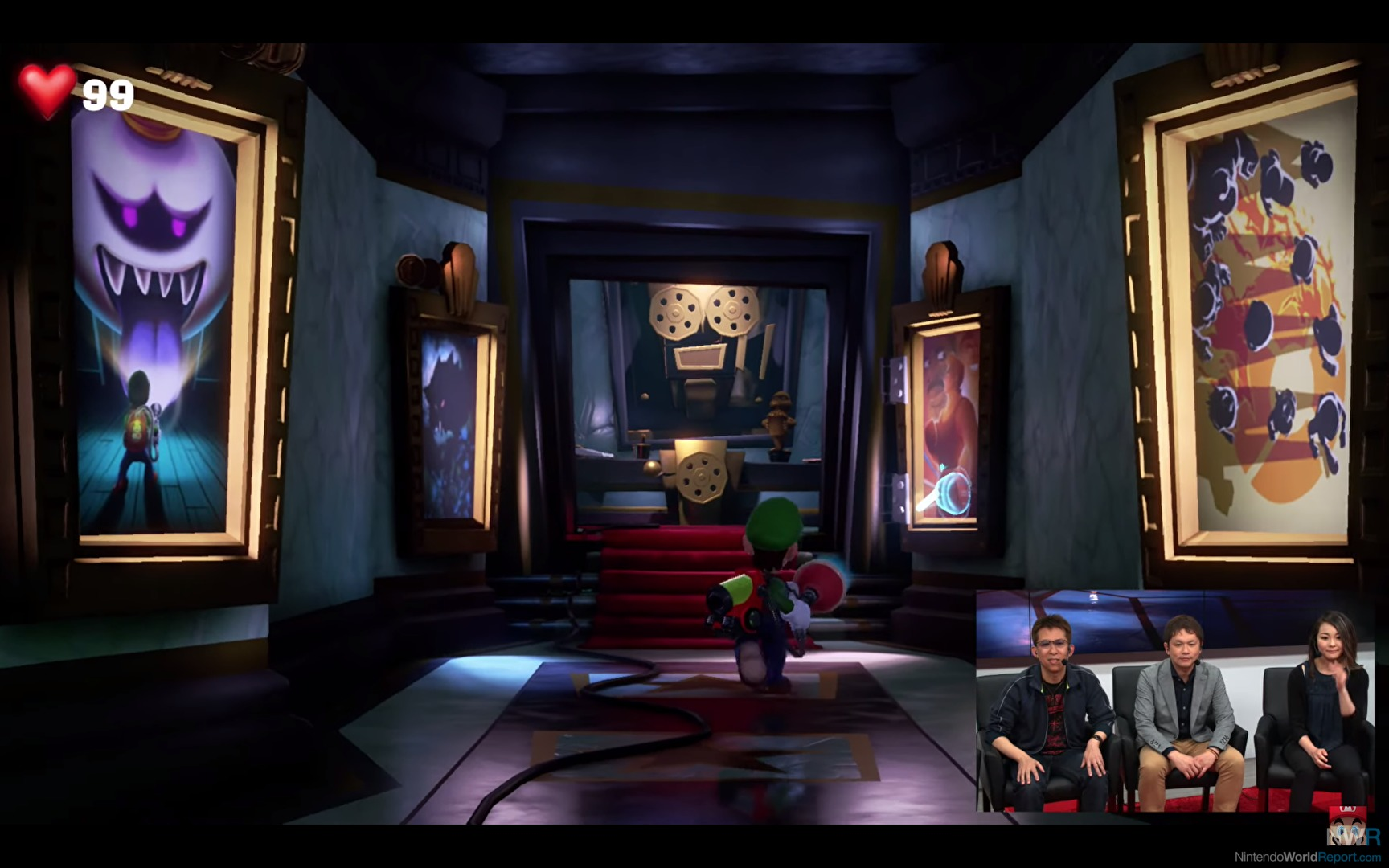 Luigi S Mansion 3 S Movie Theater Level Includes Multiple Next Level Games Easter Eggs Gonintendo