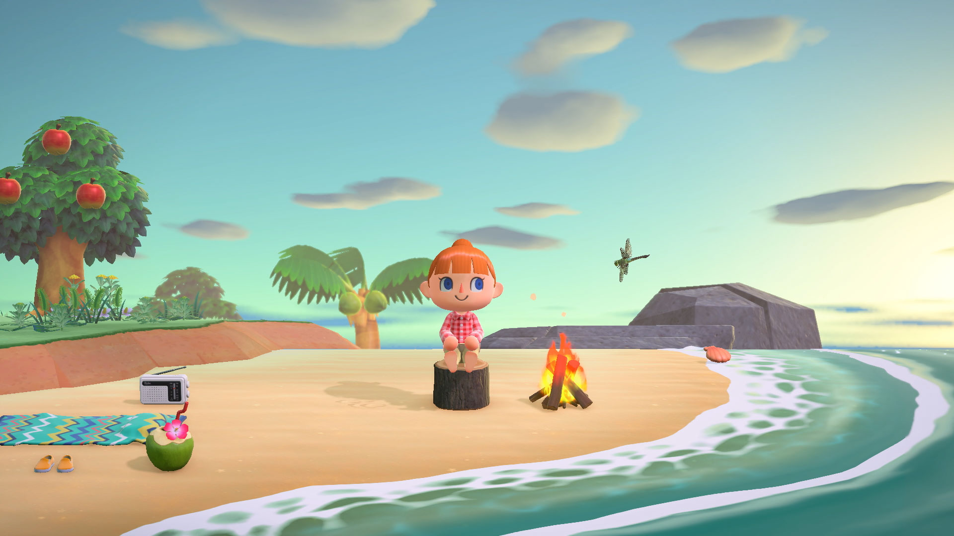 Animal Crossing: New Horizon Doesn't Lock Hairstyle/facial