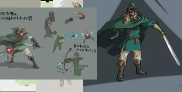Zelda Breath Of The Wild Concept Art Might Give Us A Good