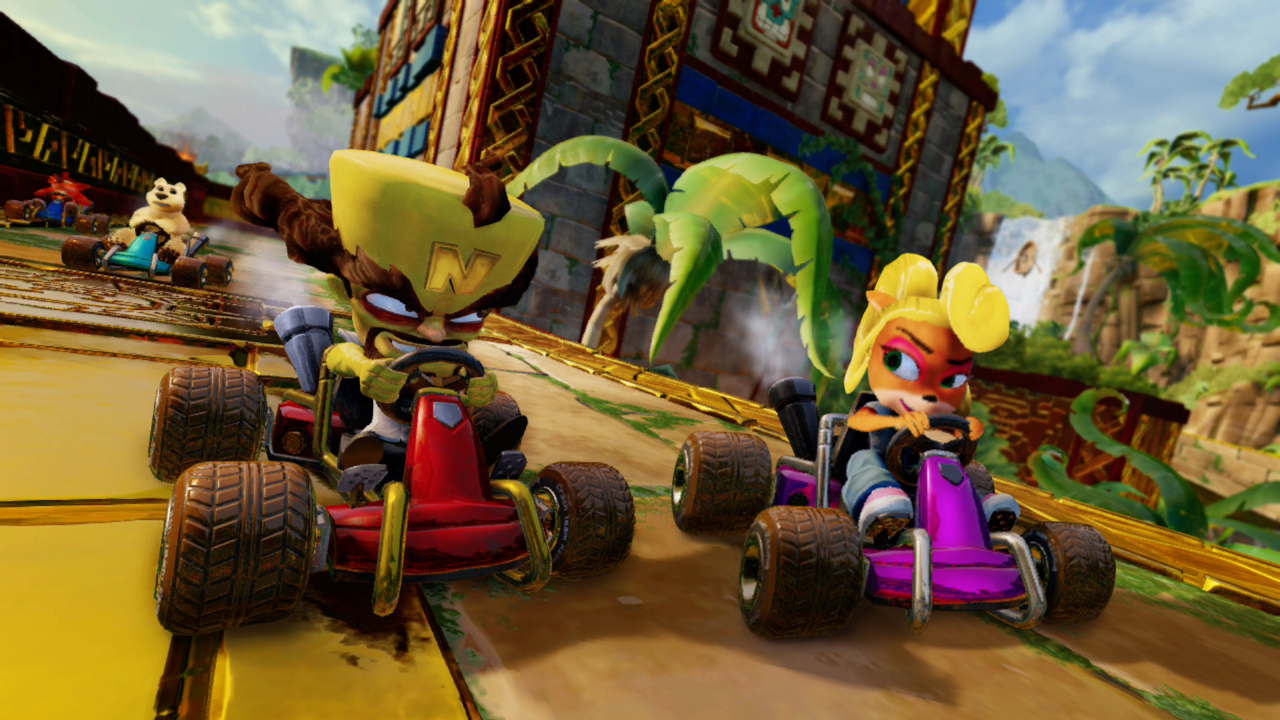 Crash Team Racing: Nitro-Fueled has some lengthy load times on