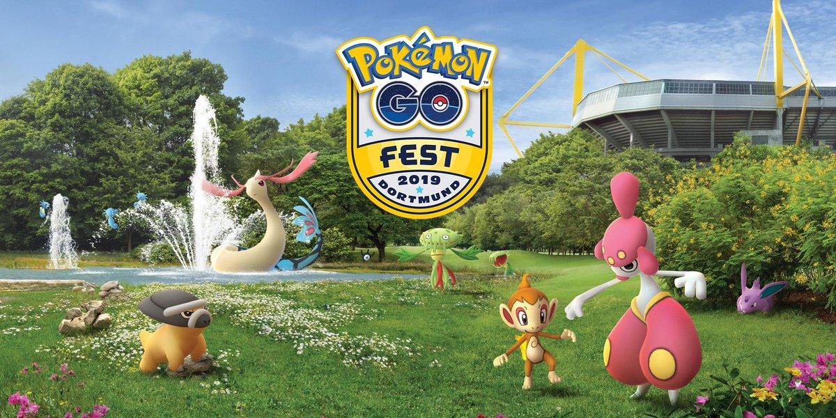 Pokemon GO news - GO Fest Dortmund tie-in events, Global