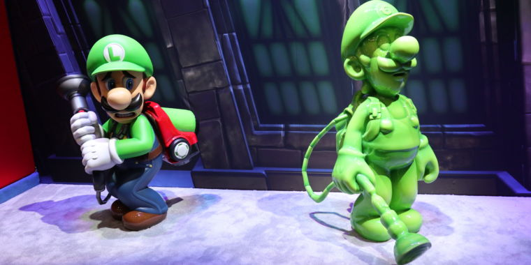 Image result for Luigi Mansion 3 gooigi
