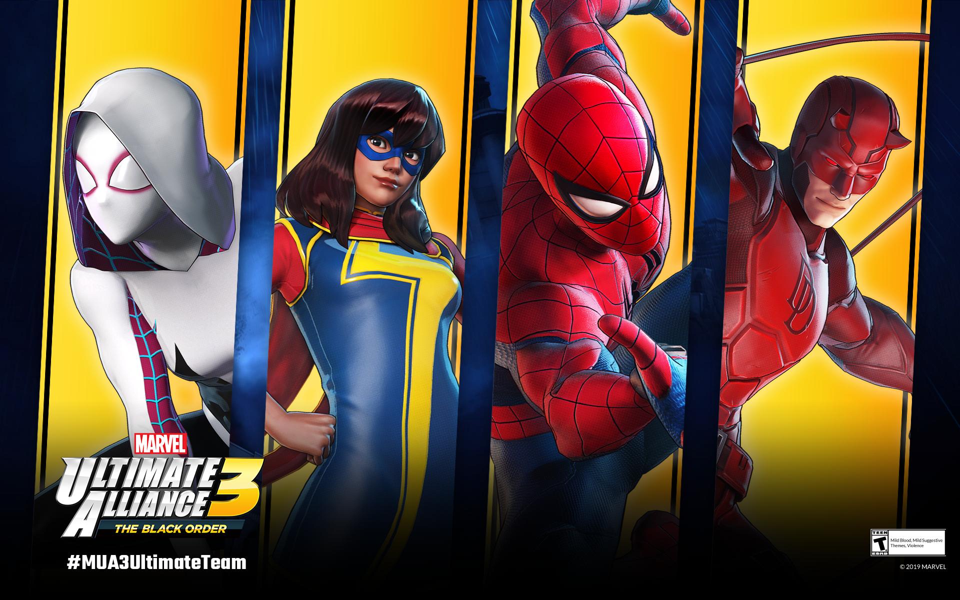 Marvel Ultimate Alliance 3 The Black Order Website Lets You