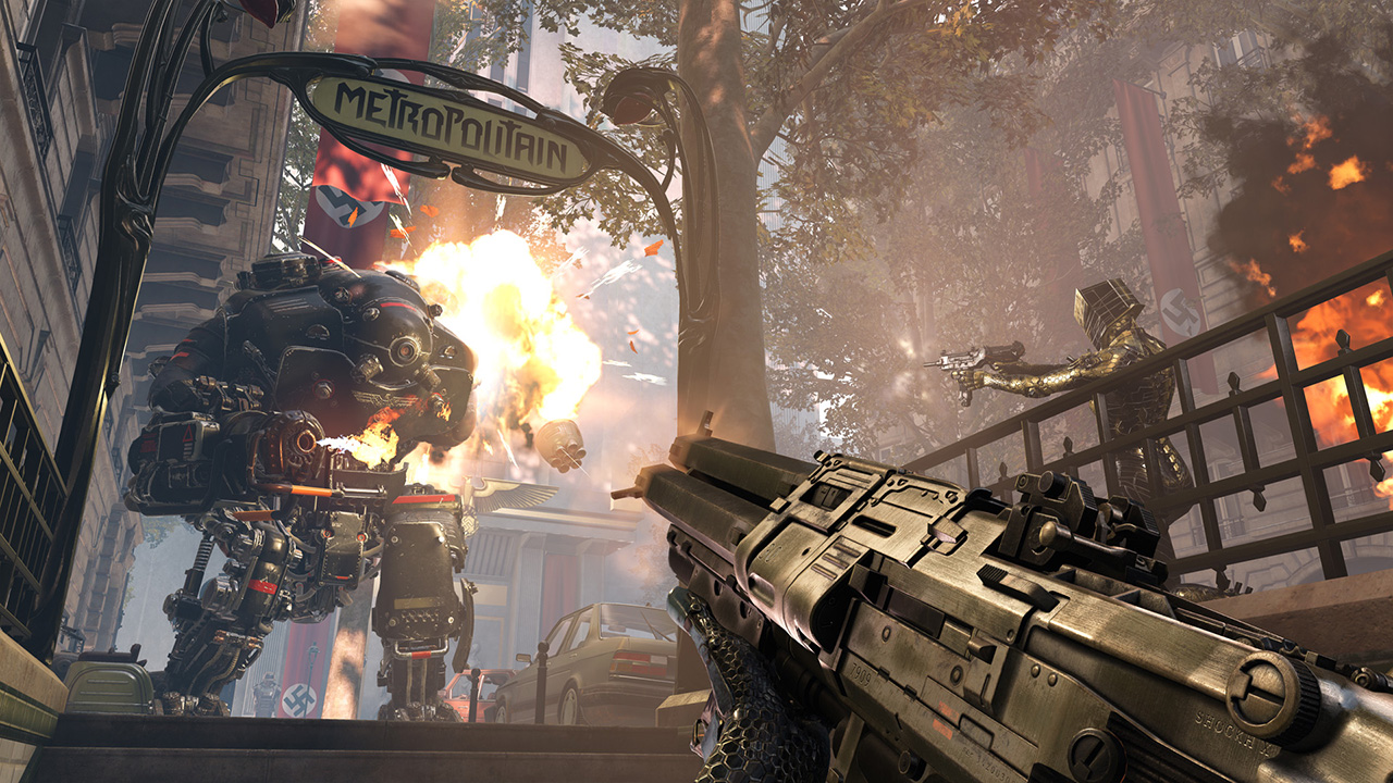 Wolfenstein: Youngblood on Nintendo Switch Is a Miracle, Says Producer