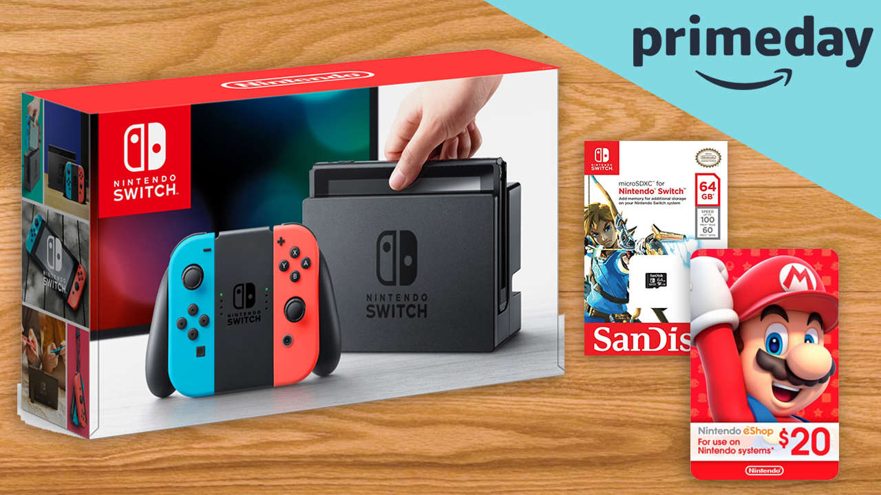 Amazon Prime Day S Top Searched Item Was The Switch Gonintendo