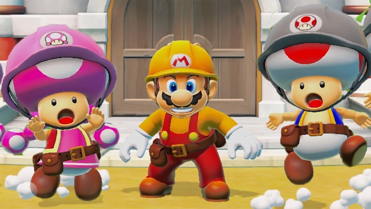 Super Mario Maker 2 course upload limit raised to 64