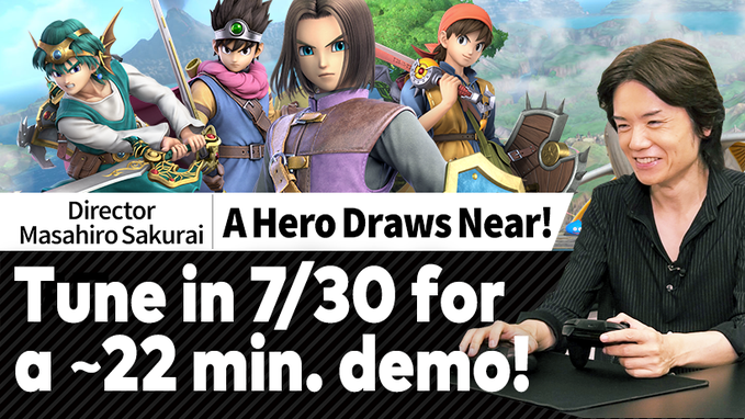 Smash Ultimate The Hero and 4.0.0 patch likely coming July 31