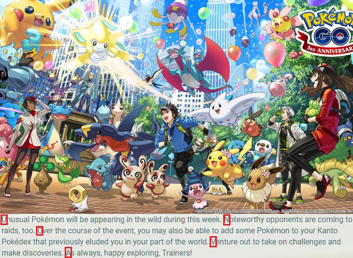 Niantic sneaks in Pokemon GO Gen V tease into a recent blog