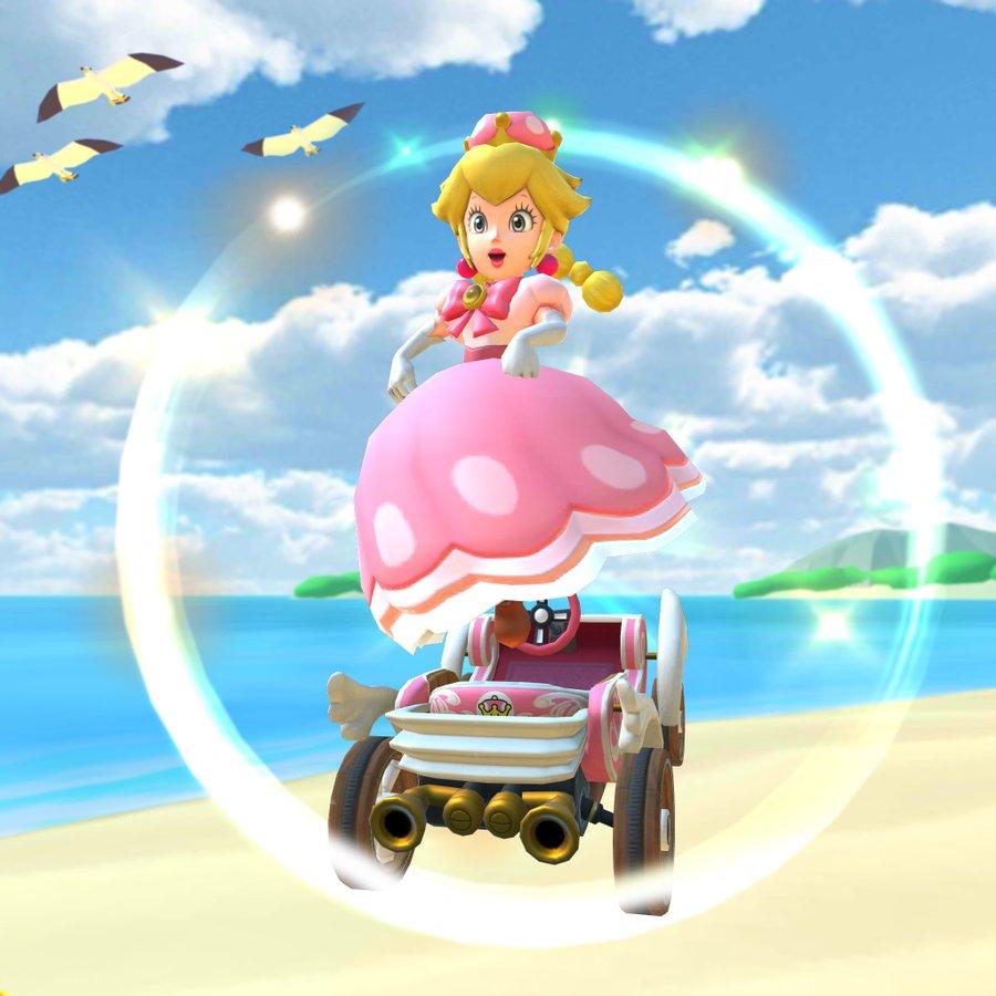 Peachette Announced For Mario Kart Tour Nicebro Gg