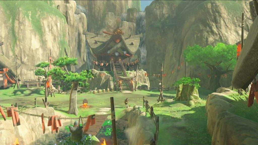 Zelda Breath Of The Wild S Kakariko Village And Korok Forest S Locations Were Originally Swapped Gonintendo