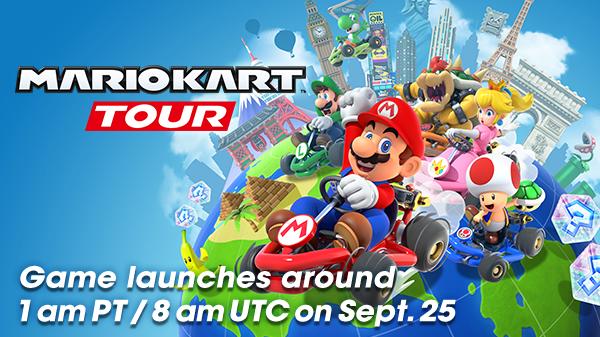 Διαθέσιμο πλέον το Mario Kart Tour!