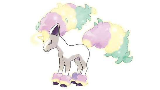 Galarian Ponyta will be exclusive to Pokemon Shield