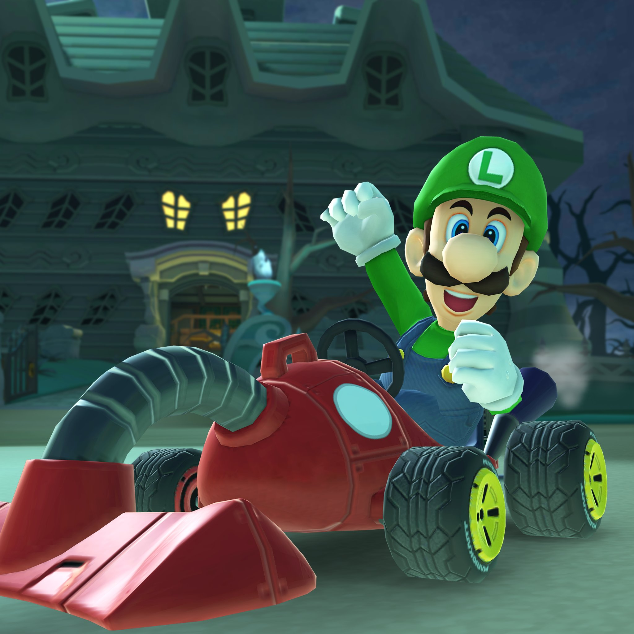 King Boo And Luigi S Mansion Being Added To Mario Kart Tour