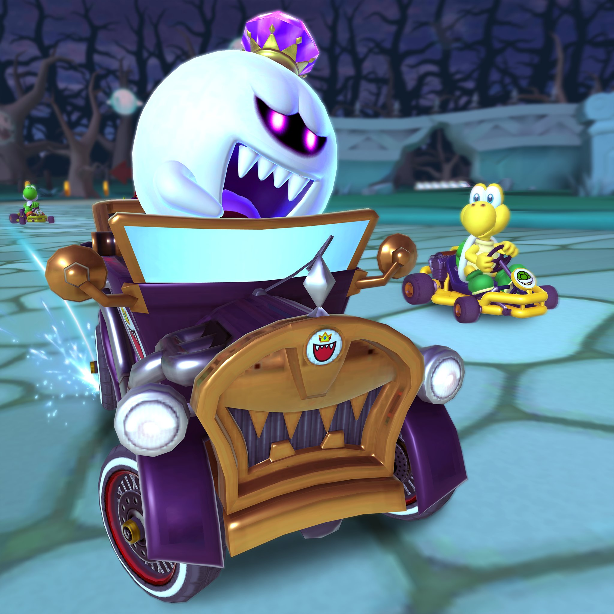 Mario Kart Tour Content Update For Oct 30th 2019 King Boo Arrives Gonintendo