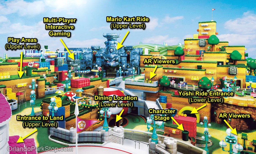 Rumor A New Piece Of Concept Art For Super Nintendo World At Universal Studios Japan Has Surfaced Gonintendo