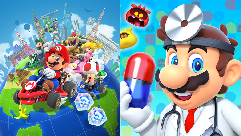 Dr Mario World And Mario Kart Tour Nominated For Google Play Best
